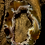Thumbnail: Large Oco/Ocho Geode Slice Silver Delicate Pendant