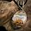 Thumbnail: Plume Agate 30x22 MM Highwall Pendant
