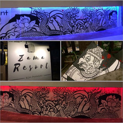 Busy few days __Newest Artwork for Zama