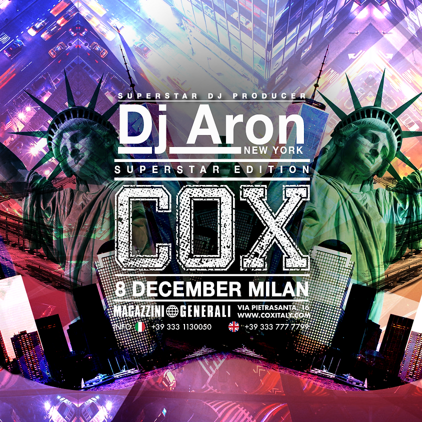 DJ ARON - MILANO
