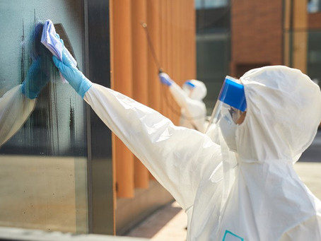 Mitigating the COVID-19 Risk in Buildings
