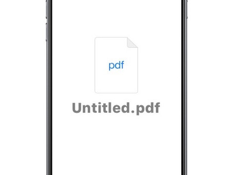 How to turn a printed document into a PDF with your phone