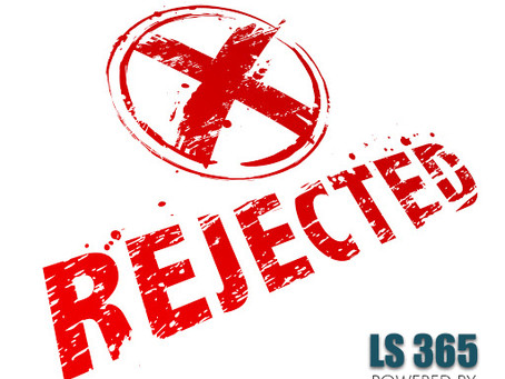 eFiling Rejected
