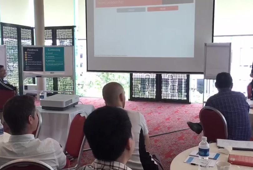 Timelapse - L&D Workshop for Swire