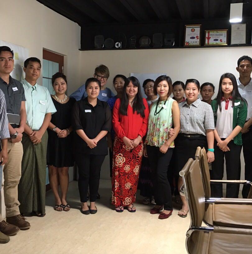 A fantastic workshop on F.A.S.T. Sales Management in Myanmar!