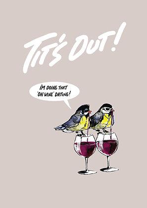TIT'S OUT! PRINT