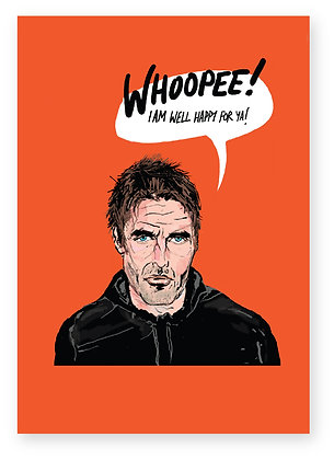 LIAM GALLAGHER, ROCKSTAR, OASIS, FUNNY CARD, HOW FUNNY