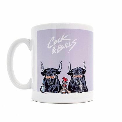 cock & bulls mug, Funny mug, coffee lover mug, rude mug, mug, funny gift, mugs, funny, how funny,gift,  cup, gift idea,
