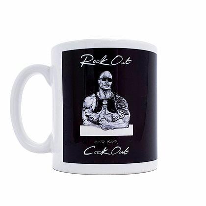 Rock out mug, Funny mug, coffee lover mug, gay mug, mug, funny gift, mugs, funny, how funny,gift,  cup, gift idea,