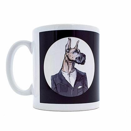 Great dane mug, Funny mug, dog lover mug, dog mug, mug, funny gift, mugs, funny, how funny,gift,  cup, gift idea,