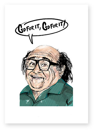 DANNY DEVITO, FRANK REYNOLDS, FUNNY CARD, HOW FUNNY