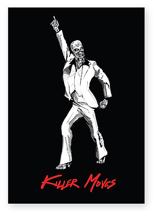 TERMINATOR, T800, DISCO DANCER, NIGHT FEVER, KILLER MOVES, FUNNY CARD, HOW FUNNY