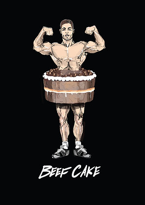 BEEF CAKE PRINT