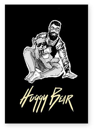 gay bear, chunky man, teddy bear, funny card, how funny