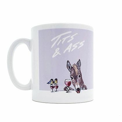 tits & ass mug, Funny mug, coffee lover mug, rude mug, mug, funny gift, mugs, funny, how funny,gift,  cup, gift idea,