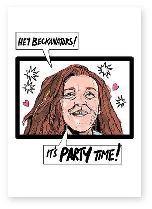 lunatics, chris lilley, beckanator, funny card, how funny
