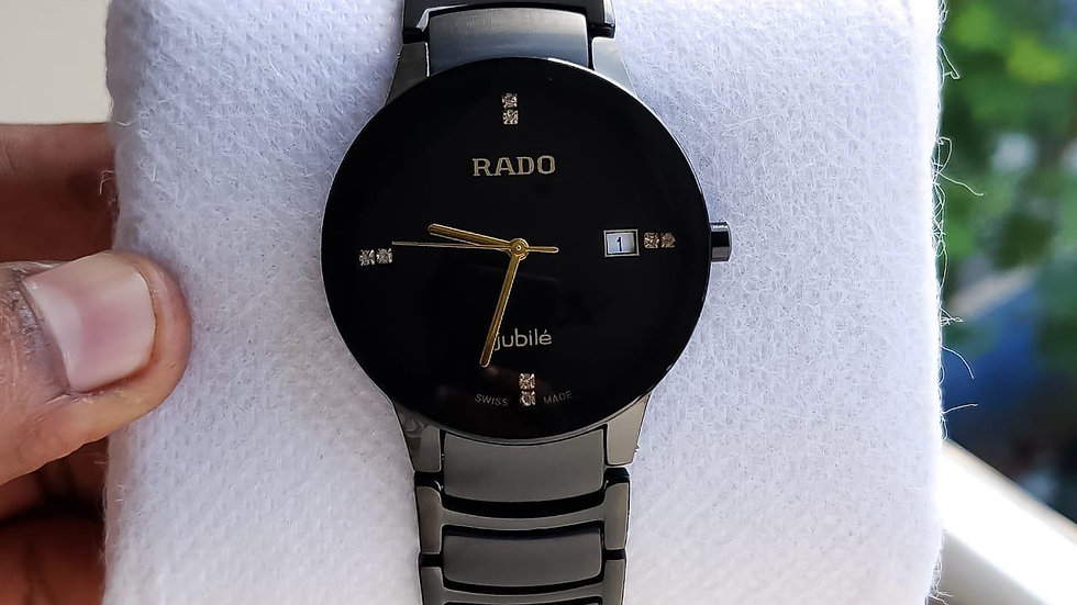 Rado Jubilie (Mens) Black Chronography