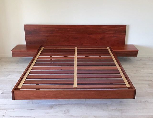 Floating Jarrah Bed