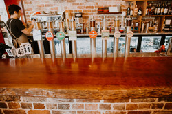 Jarrah Bar top