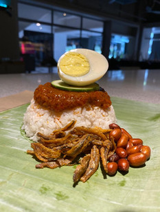 nasi lemak biasa