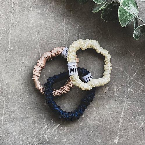 Petite Trio Silk Hair Tie