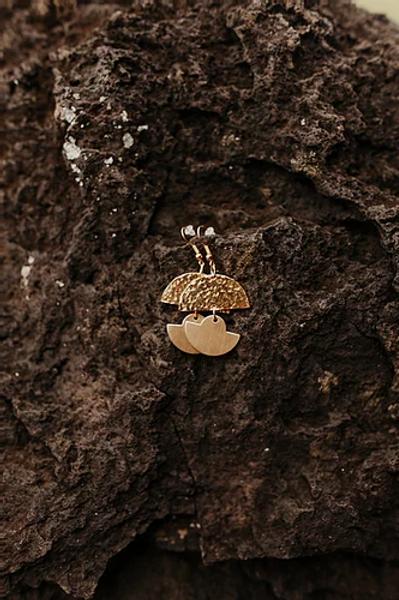 Earrings - Sun + Mountain