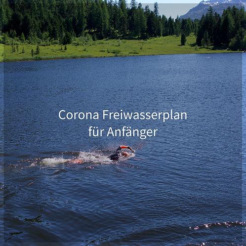 Corona Freiwasserplan Anfänger