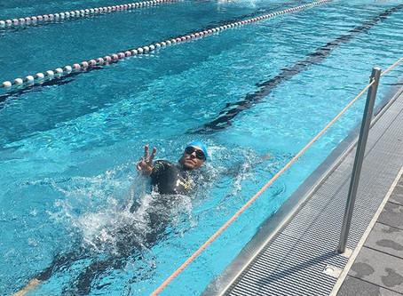 Überleben auf der Schwimmbahn
