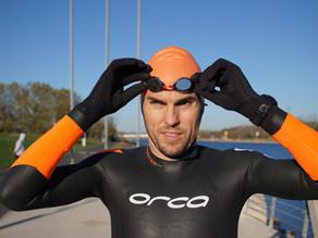 Freiwasser Schwimmtraining -            Die Wahl der ganz Harten im Winter