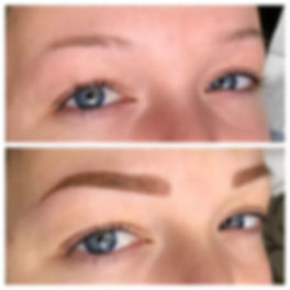 No hair_ No problem._•_Combo brows give