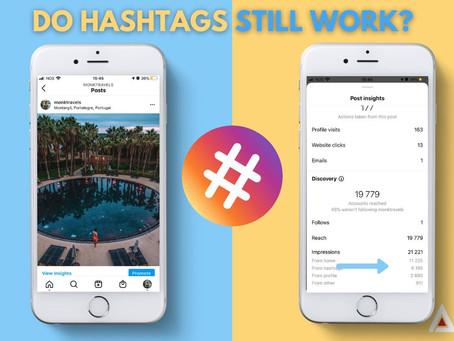 Do Hashtags Still Work In 2021?