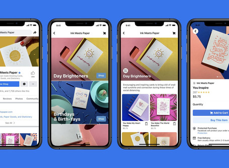 Facebook launches Shops to bring more businesses online during the pandemic