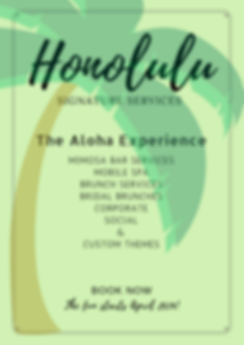 honolulu event planning