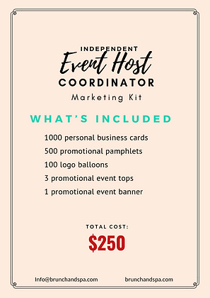 Event Host Marketing Starter