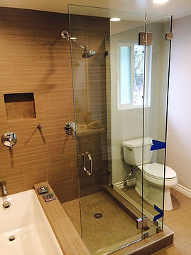Frameless Shower Doors,Glass Bathroom Doors, Shower Doors, Glass Rails, Commercial Glass Doors, Residential Glass Doors, Custom Glass Door, Frameless shower door Santa Monica, Frameless Shower Door Los Angeles, Glass Door Installation