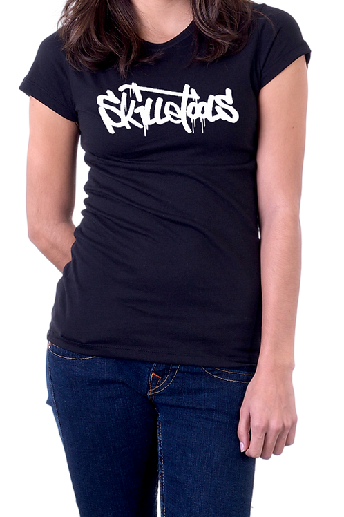 WOMEN'S SKILLETOOLS T-SHIRT BLACK