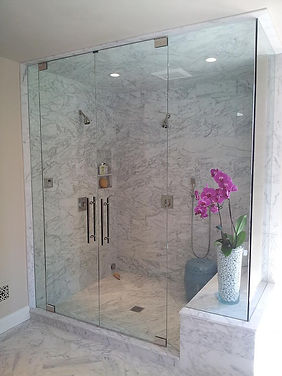 Frameless Shower Door, Frameless Glass Door, Frameless Shower Enclosure, Frameless Shower Door Los Angeles, Frameless Shower Doors Santa Monica, Frameless Glass, Glass Rail, Mirror, Antique Mirror, Custom Glass Door, Custom Glass, Glass Company Los Angeles, Bathroom Remodel, Bathroom Renovation Los Angeles