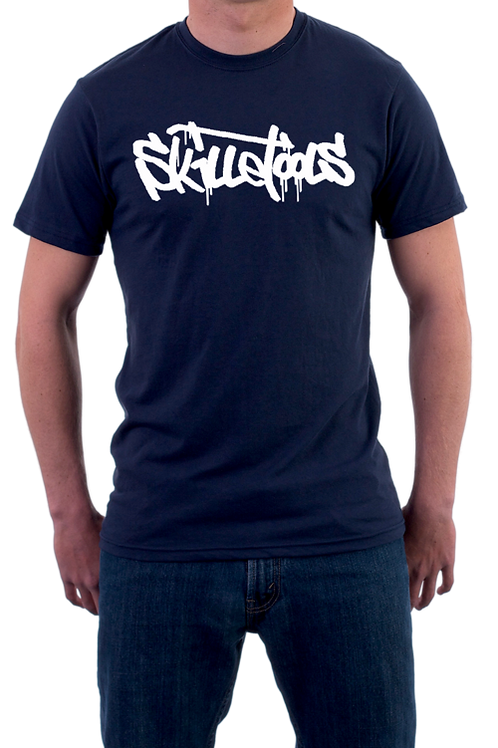 MEN'S SKILLETOOLS T-SHIRT NAVY BLUE