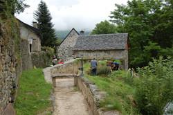 Jardinage au moulin
