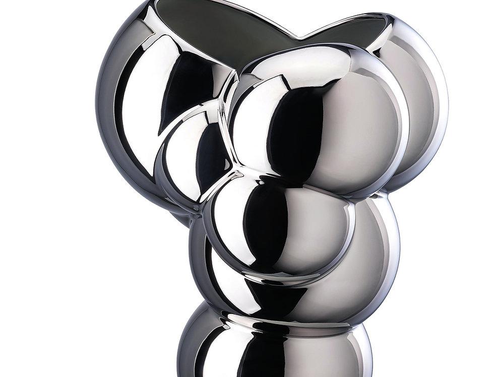 Vase 26 cm | Platine | Édition limitée | 449 €