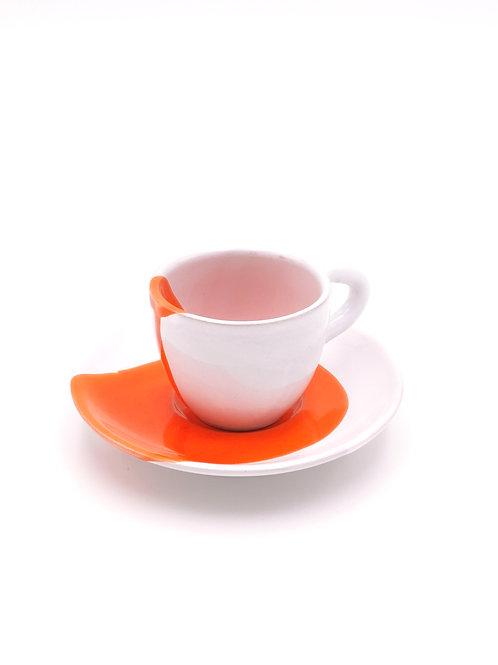 Tasses & soucoupes | Splash Orange | à partir de 30 €