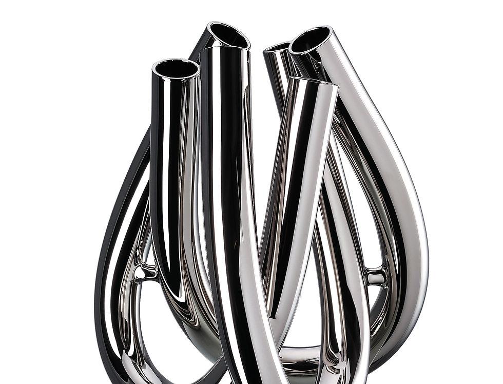 Vase Triu | Platine | 22 cm | 149 €