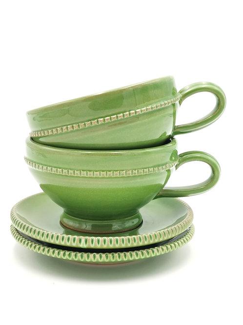 Tasses & soucoupes | Vert pomme | à partir de 23 €