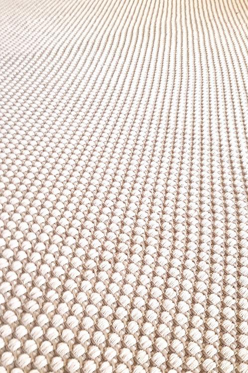 Tapis Ostuni | Taupe et Blanc | 160x80 cm  | 455 €