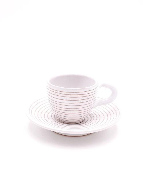 Tasses & soucoupes | Spirale Blanc | à partir de 26 €
