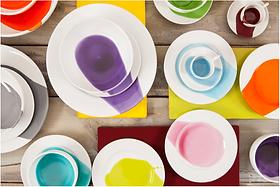 Art de la table | Céramique | Assiettes Splash | Giovanna Alò