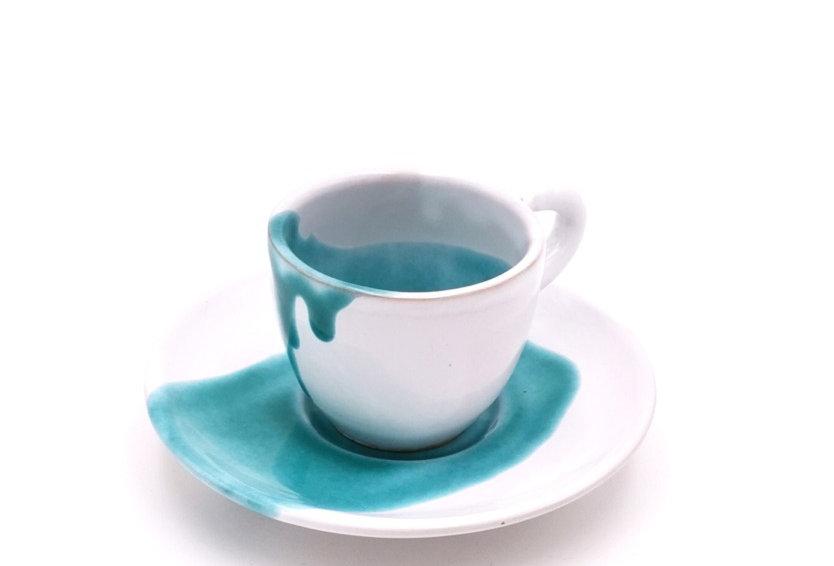 Mugs, tasses & soucoupes | Splash Emeraude | à partir de 32 €