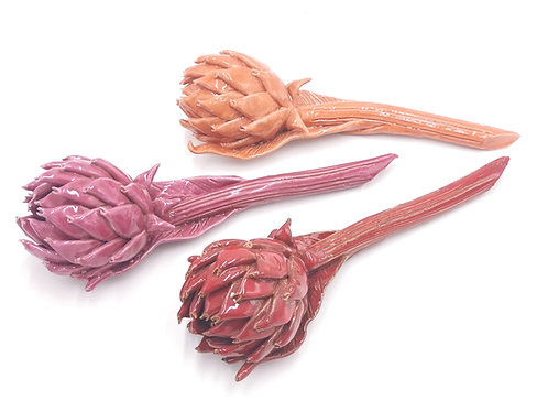 Artichauts | Orange | Fuchsia | Sang | à partir de 150 €