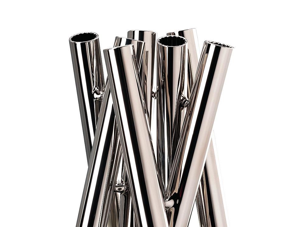 Vase Seven Contour | Platine | 21 cm | 149 €