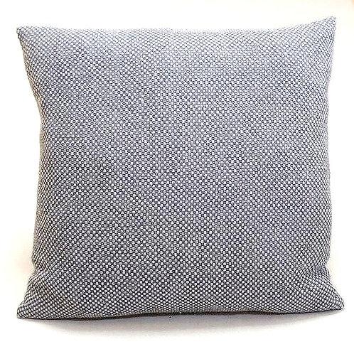 Coussin | 100% cachemire Loro Piana | Crème & bleu | 60X60 cm | 395 €